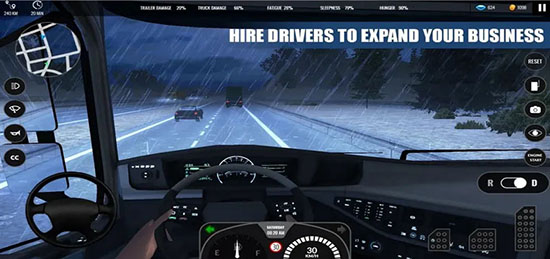 欧洲卡车模拟器高级版汉化