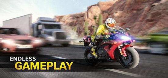 公路骑士摩托车赛车手破解版