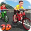 儿童自行车赛