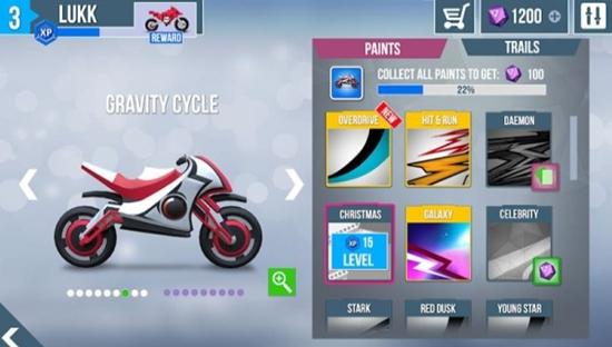 超级摩托车零