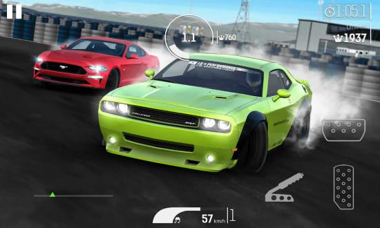 氮气赛车游戏