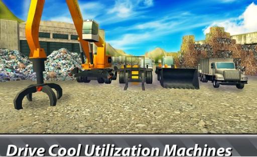 垃圾车模拟器汉化版破解版下载