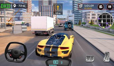 加速驾驶模拟器无限金币版