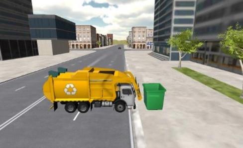 垃圾卡车驾驶模拟器