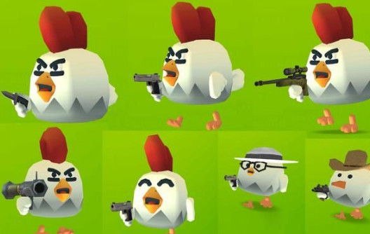 小鸡火力对决破解版下载