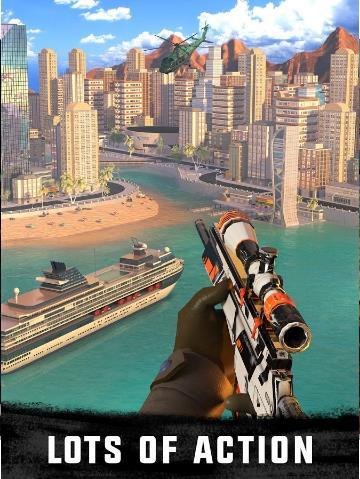 狙击猎手无限金币钻石版下载