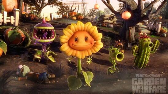 植物大战僵尸花园战争破解版