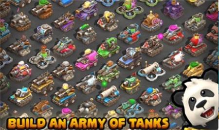 微型坦克多人混乱破解版