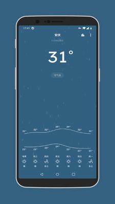 Pure天气app
