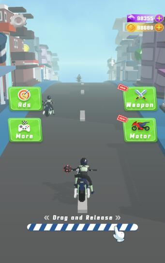 公路摩托车杀手游戏