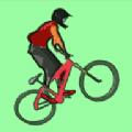跳跃的堆栈自行车游戏